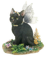 Mystique Fairy Cat Figurine Faerie Glen Collection - Munro Gifts
