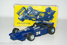 DINKY TOYS 222 HESKETH OLYMPUS FORMULA 1 RACING CAR MINT BOXED RARE SELTEN!