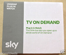 SKY WIRELESS MINI CONNETTORE WIFI SD501 TV in qualsiasi momento sulla domanda per SKY HD BOX
