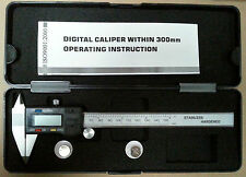 "Digital Calipers Pointed Jaws 150mm / 6"" 3-key type"
