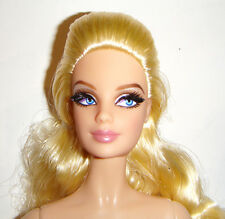 Nude Barbie Doll Long Blonde Hair Model Muse Barbie Dolls For Ooak cs02