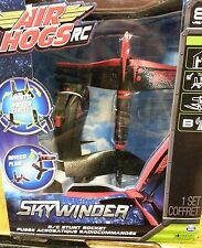 AIR HOGS RC SKYWINDER R/C STUNT ROCKET RED NEW FREE SHIPPING