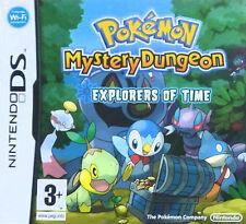 Pokemon Mystery Dungeon: exploradores del Tiempo (Nintendo DS, 2008) - europea..