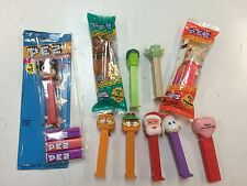 Collection of 10 Pez Candy Dispensers, Mickey, Santa, Yoda, Hulk, Garfield, etc.