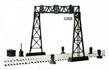 HO Scale TWO TRACK SIGNAL BRIDGE KIT - BULK PURCHASE - New Model Power 419