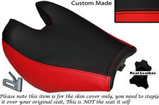 BLACK & RED CUSTOM FITS HYOSUNG 125 250 650 GTR & COMET 11-14 FRONT SEAT COVER