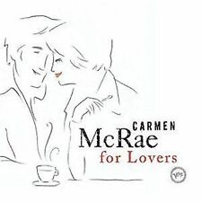 Carmen McRae For Lovers CD NEW SEALED 2006 Jazz