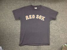 LIGHTLY WORN  MLB RED SOX JOHNNY DAMON JERSEY T-SHIRT SIZE S