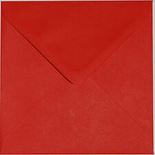 "Superb Quality 130mm x 130mm Square (5"") 100GSM Envelopes-Choice of Colour & Qty"