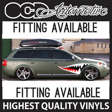 SHARK MOUTH SIDE GRAPHICS DECALS STICKER KIT DRIFT JDM SUPRA AUDI MAZDA NISSAN