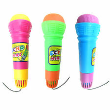 Fad Echo Microphone Mic Voice Changer Music Toy Gift Birthday Present Kid Party