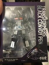Sentinel Transformers Black Convoy Pen Action Figure Nemesis Prime Takara 30th