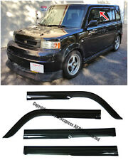 For 04-07 Scion xB Mugen Style Smoke Tinted Side Vent Window Visors Rain Guard