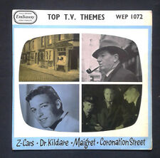 TOP T.V.THEMES.EMBASSY UK EP.Z-Cars-Maigret-Dr.Kildare-Coronation St.JamesWright