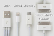 4 IN 1 Data Sync USB CHARGING CABLE LEAD Charger iPhone 4S 5S Samsung Galaxy S5
