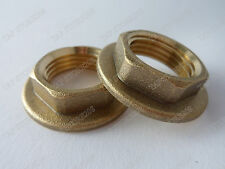 "PAIR BRASS BACKNUTS 1/2""BSP FOR BASIN KITCHEN TAPS..."