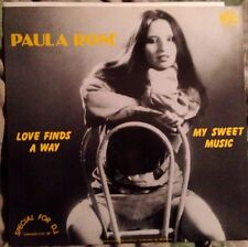 PAULA ROSE - Love Finds A Way - Vinile Mix 12 - New - PROMO - RARO
