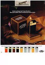 PUBLICITE ADVERSTISING  1973   CONSUL ELECTRONIC  briquet  ASTREL