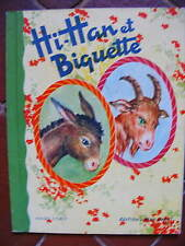Album Hi-Han et Biquette Images d' Okey Coll. La Cage aux Merveilles BIAS 1952