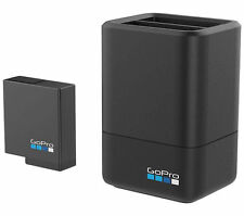 GoPro Dual Battery Charger +Additional Battery for Hero 5 Black Camera AADBD-001