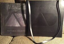 ART DEPARTMENT Natural Selection NEW/SEALED 2xLP W *ENGRAVED LEATHER BAG*