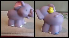 LITTLE PEOPLE  Mattel  Fisher  Price Elephant Yellow Bird Ark Jungle Safari