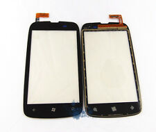 NOKIA LUMIA 610 DIGITIZER VETRO DISPLAY TOUCH SCREEN DI RICAMBIO NERO + Strumenti UK