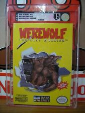***** BRAND NEW FACTORY SEALED VGA 85 Silver NM+ Werewolf NINTENDO NES - NTSC
