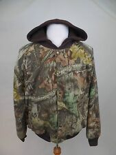 Cabelas Advantage Timber Fleece Hooded Insulated Outdoors Hunting Jacket Size XL