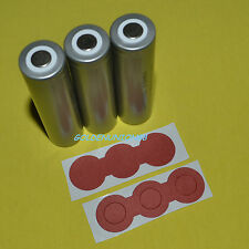 3X LiFePO4 IFR18650 3.2V 1500mAh battery + three joint insulation adhesive paper