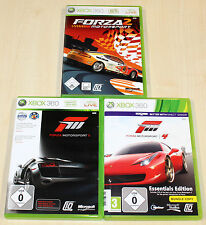 3 xbox 360 jeux collection-Forza Motorsport 2 3 4-rennspiel racing