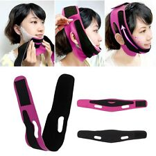 3D Face Lift Up Cheek Chin Slim Mask Belt V-Line Slimming Band Strap Beauty New