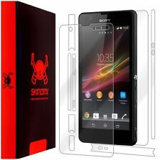 Skinomi Transparent Clear Full Body Protector Film Cover for Sony Xperia ZR