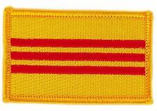 Patch écusson brodé Drapeau  VIETNAM DU SUD FLAG  Thermocollant Insigne Blason