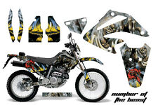AMR Racing Honda XR 250SM Graphic Decal Number Plate Kit Bike Stickers 03-05 IM