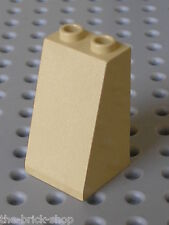 LEGO TAN slope brick ref 3684 / set 7413 5988 4729 8671 7297 7477 7298 ...