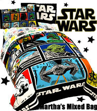 DISNEY STAR WARS GRID DARTH VADER Boys Twin Size Bedding Comforter+Sheet Set