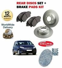 FOR HONDA FRV 2.2DT CTDi 2005--  NEW REAR BRAKE DISCS SET AND DISC PADS KIT