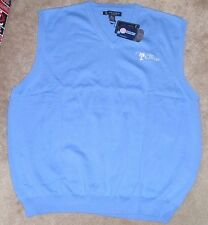 NEW NCAA The Citadel Bulldogs Golf Vest XL X-Large Oxford NEW NWT