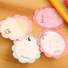 2 sheet 40 Page Cute Flower Bookmark Marker Memo Flags Note Pad Tab Sticky Note