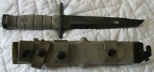 NEW Ontario 1948 OKC10 Tanto Bayonet System Knife Sheath TAN 420HC USA US Army