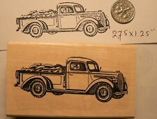 Old truck rubber stamp P51