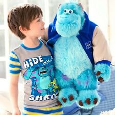 Large Disney Pixar Monster Inc University Sulley Sully Stuffed Plush Toy