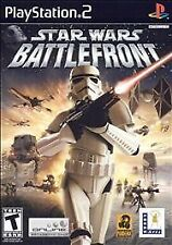 STAR WARS BATTLEFRONT Sony Playstation 2 PS2 Game