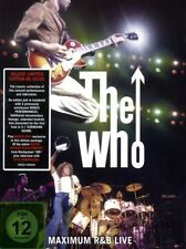 """THE WHO """"MAXIMUM R&B LIVE"""" 2 DVD DELUXE DIGIPACK NEW+"""