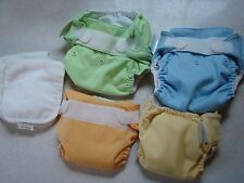 4 Bum Genius Cloth Diaper Lot -  neutral boy girl