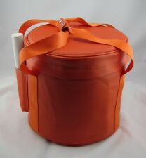 "9"" & 10'' Carrier (Carrying Case) for Crystal Singing Bowl (Orange color)"