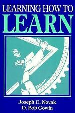 Learning How to Learn, Joseph D. Novak, D. Bob Gowin, Very Good Book