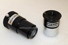 "Optical Hardware basic 1.25"" 12mm telescope eyepiece + 3x barlow lens bundle"