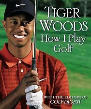 Tiger Woods How I Play Golf Book with Jacket